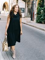 שמלה מואנה שחורה