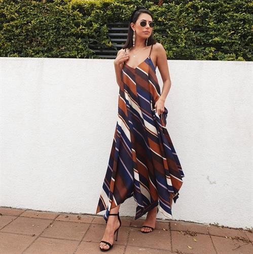 שמלת ליאל - פסים