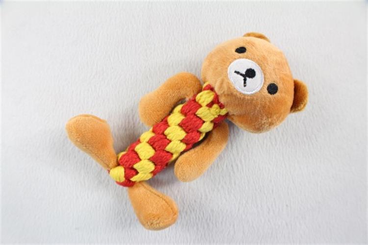צעצוע בובה על חבל- דוב