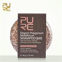 שמפו מוצק אורגני לשיקום שיער יבש