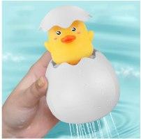 משחק אמבטיה - זוג ביצים בוקעות