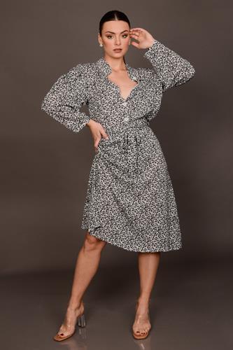 חצאית מידי קיילי פרחונית