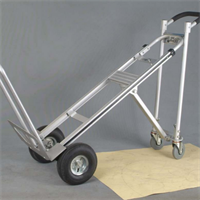 עגלת משא אלומיניום מקצועית תלת מצבית 3PRO הרמה 350 קילו