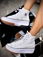 נעלי נשים CONVERSE  לבן