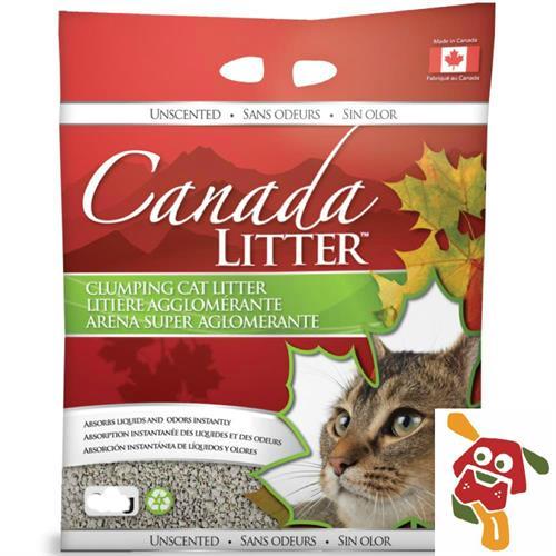 """חול מתגבש קנדה ליטר 18 ק""""ג ללא ריח"""