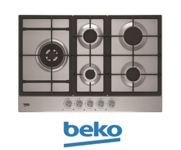 beko כיריים גז 70 סמ דגם: HIAL75225SX