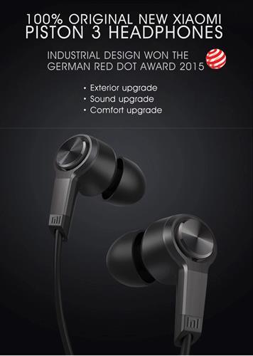 אוזניות Xiaomi Piston 3 מקוריות באיכות גבוהה ביותר