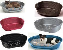 מיטת פלסטיק דלוקס לכלב מידה 10