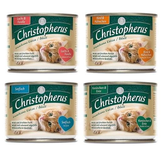 שימורי פטה כריסטופר בטעמים 4 יחידות