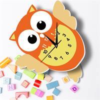 שעון קיר מעוצב- ינשוף