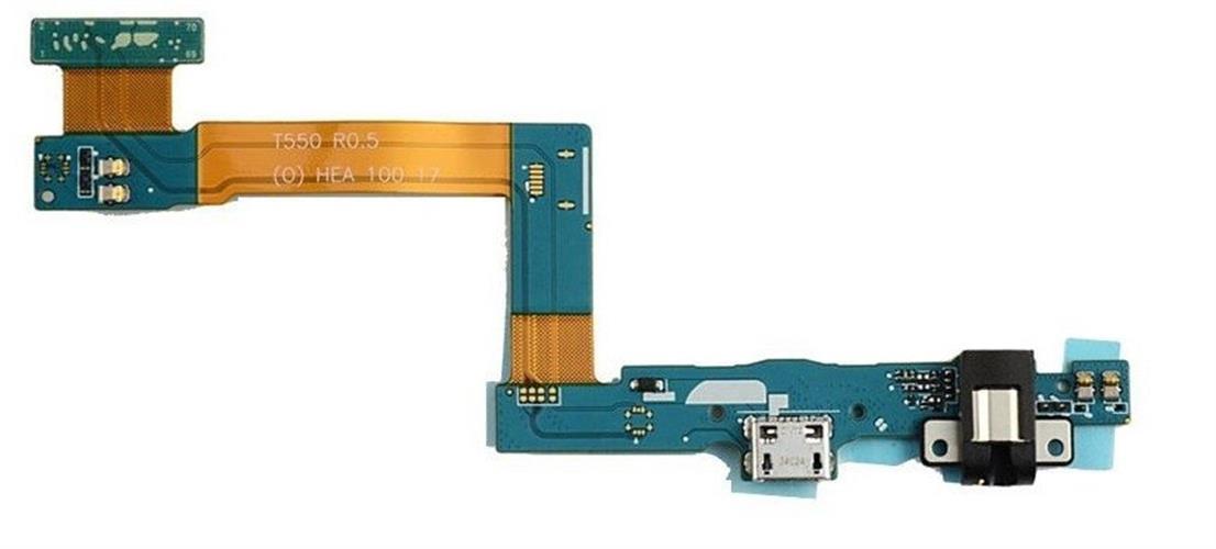 החלפת שקע טעינה לטאבלט סמסונג Samsung Galaxy Tab A 9.7 SM-T550 Micro USB Charging Port Dock Flex Cable