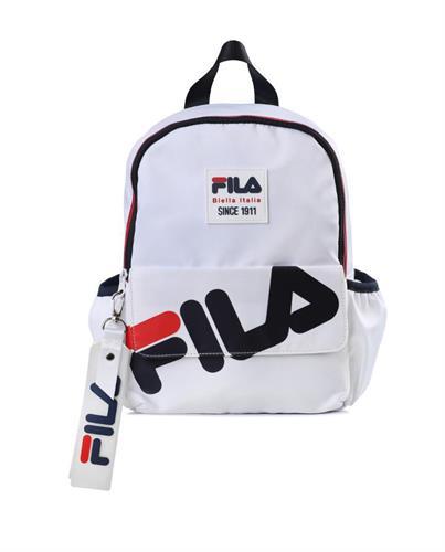 תיק גן לוגו FILA לבן