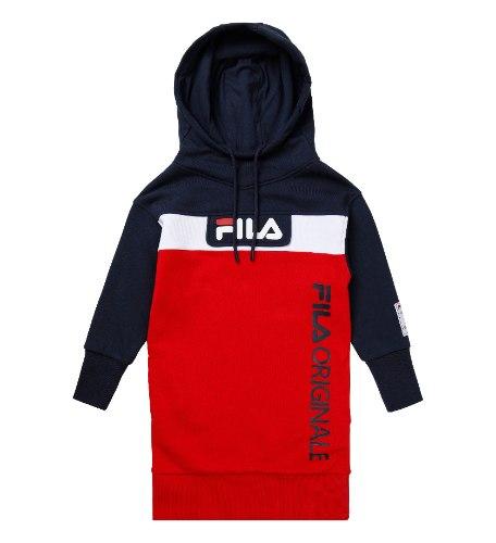 שמלת פוטר אדום/כחול FILA - מידות 4 עד 16 שנים