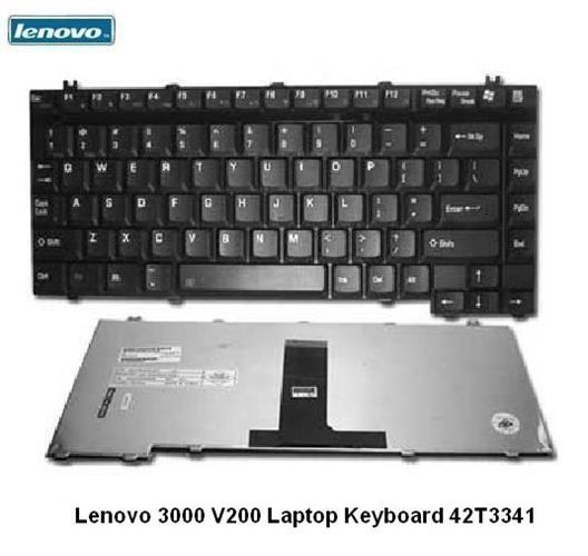 מקלדת למחשב נייד לנובו 145 שקל כולל עברית חרוטה Lenovo 3000 V200 Laptop Keyboard 42T3341