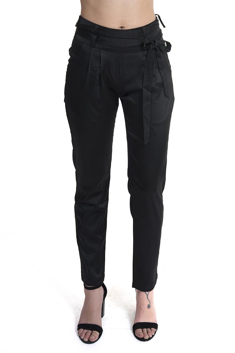 מכנס גולי שחור