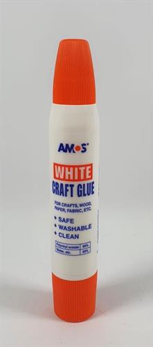 דבק יצירה לבן דו צדדי AMOS