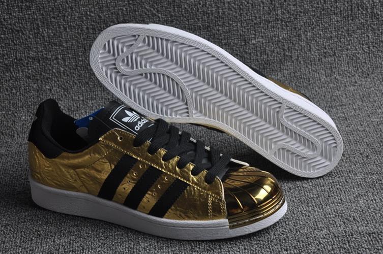 נעלי adidas Superstar  יוניסקס Gold Metal Toe מידות 36-44