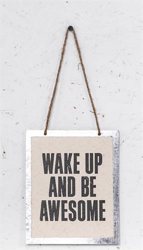 שלט - WAKE UP
