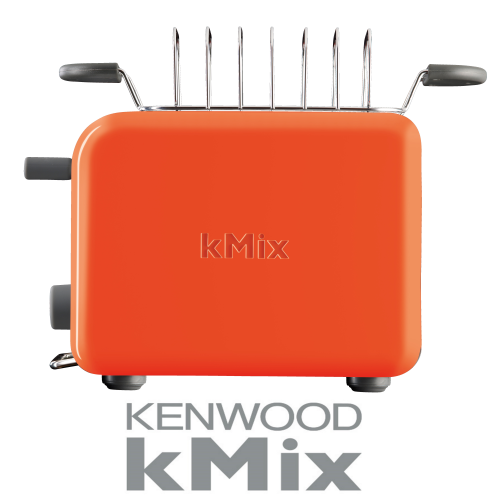 מצנם מפואר בסדרה צבעונית kMix מבית KENWOOD דגם: TTM027