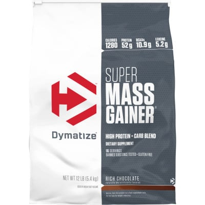חבילת מסה-DYMATIZE SUPER MASS GAINER סופר מאס גיינר 5.5 ק״ג