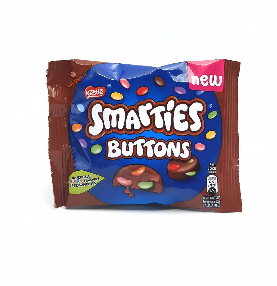 Smarties Buttons Mini Pack