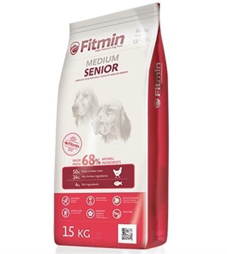 """פיטמין סניור מזון כלבים 15 ק""""ג לכלבים מבוגרים"""