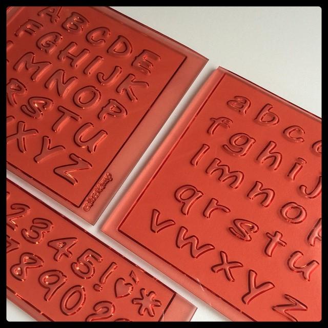 JOY Full set alphabet letters 2 cm