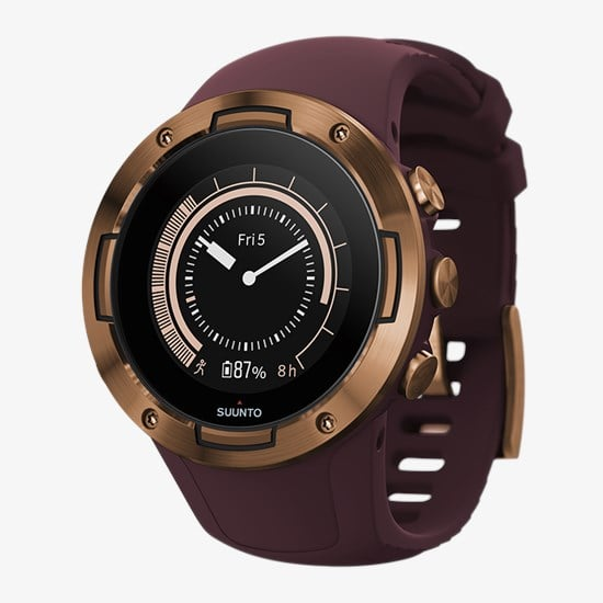 שעון דופק Suunto 5 Burgundy Copper