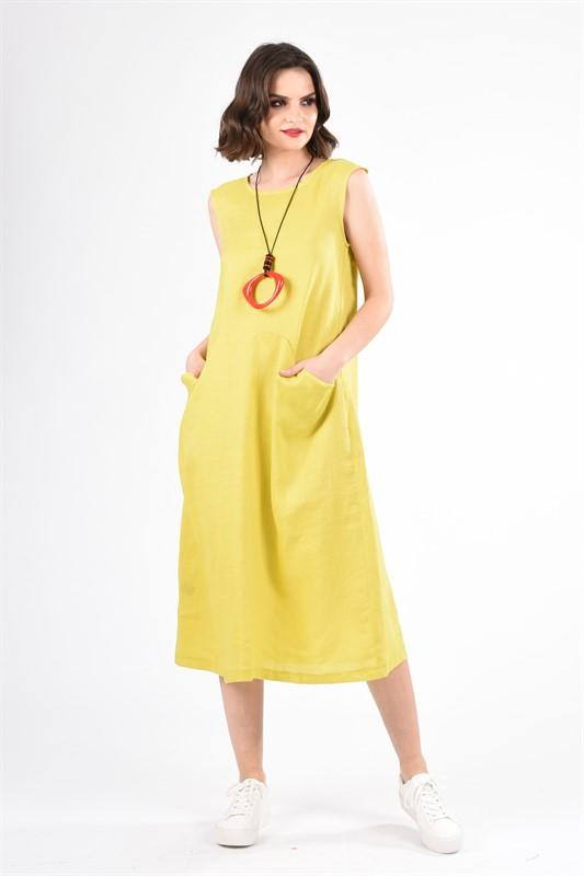 שמלה פשתן