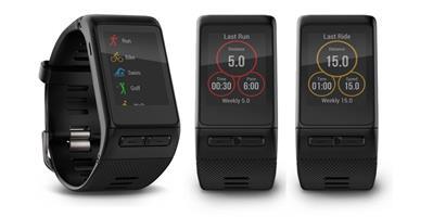 שעון ספורט Vivoactive HR Garmin, מתעד את כל הפעילויות שלך: ריצה, רכיבת אופניים, שחייה, סקי גולף ועוד