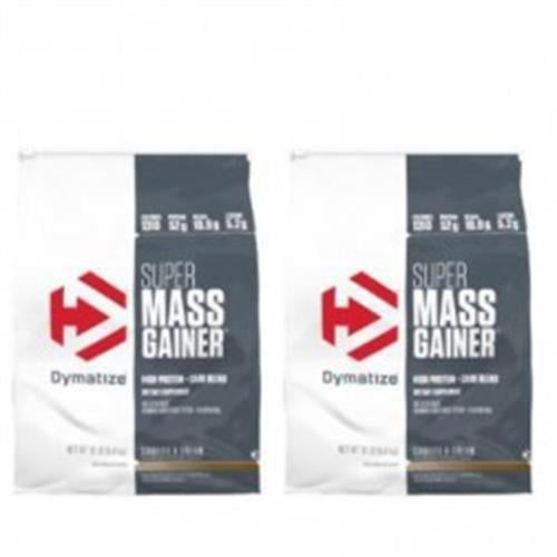 זוג DYMATIZE SUPER MASS GAINER סופר מאס גיינר 11 ק״ג