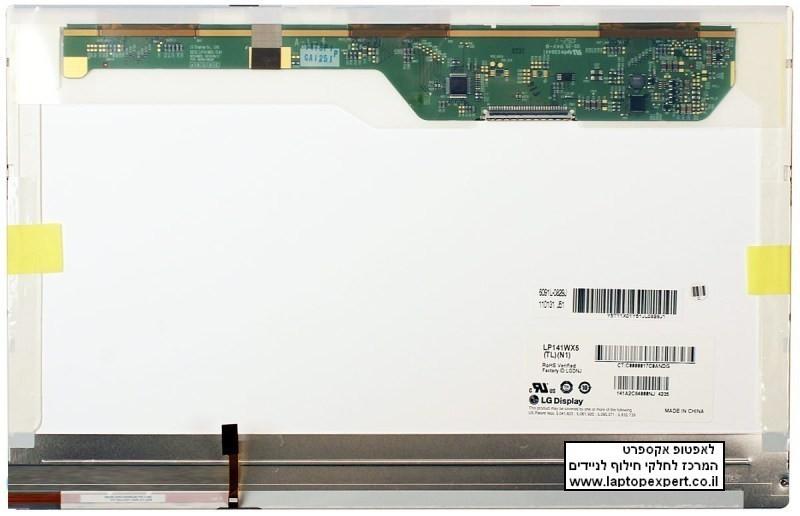 החלפת מסך למחשב נייד LP141WX5-TLN1 / LP141WX5-TLD1 LAPTOP LCD SCREEN 14.1 WXGA