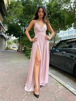 שמלה מקסי פס ISABELLA