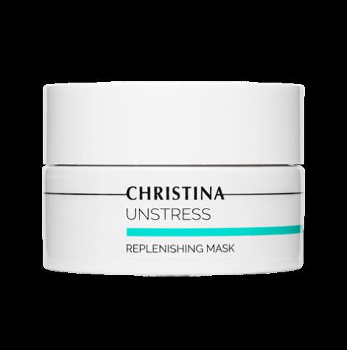 מסיכה מזינה מרגיעה ומפחיתה אדמומיות מסדרת אנסטרס - Christina Unstress Replenishing Mask