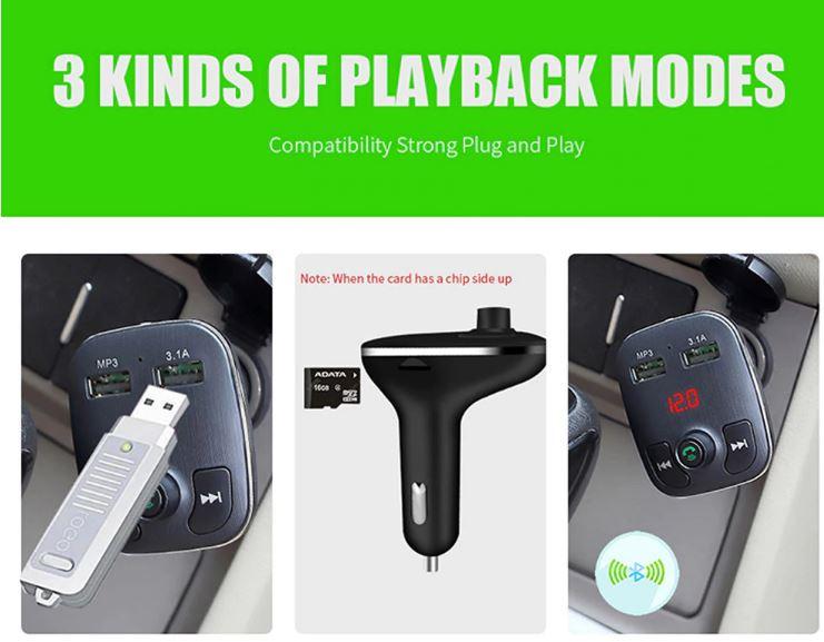 משדר fm איכותי לרכב