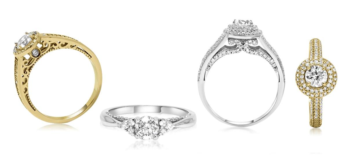 טבעות אירוסין|טבעות יהלומים - תכשיטים -  Franco Oro