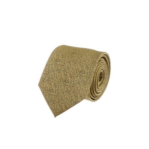 עניבה שבבים צהוב- אפור