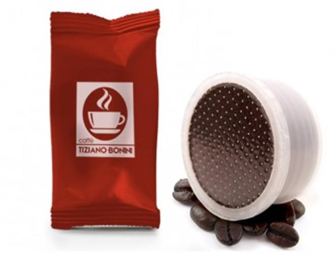 50 קפסולות קפה בוניני - Intenso - חוזק 8 - תואם לוואצה פוינט