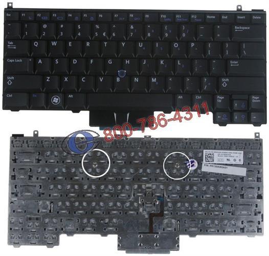 מקלדת למחשב נייד דל - משווק מורשה Dell Latitude E4310 Laptop Keyboard 0RWVK4 NSK-DS0UC