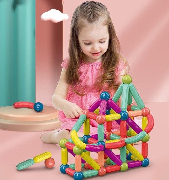 משחק מגנטים באבלס לילדים - Toymagnet