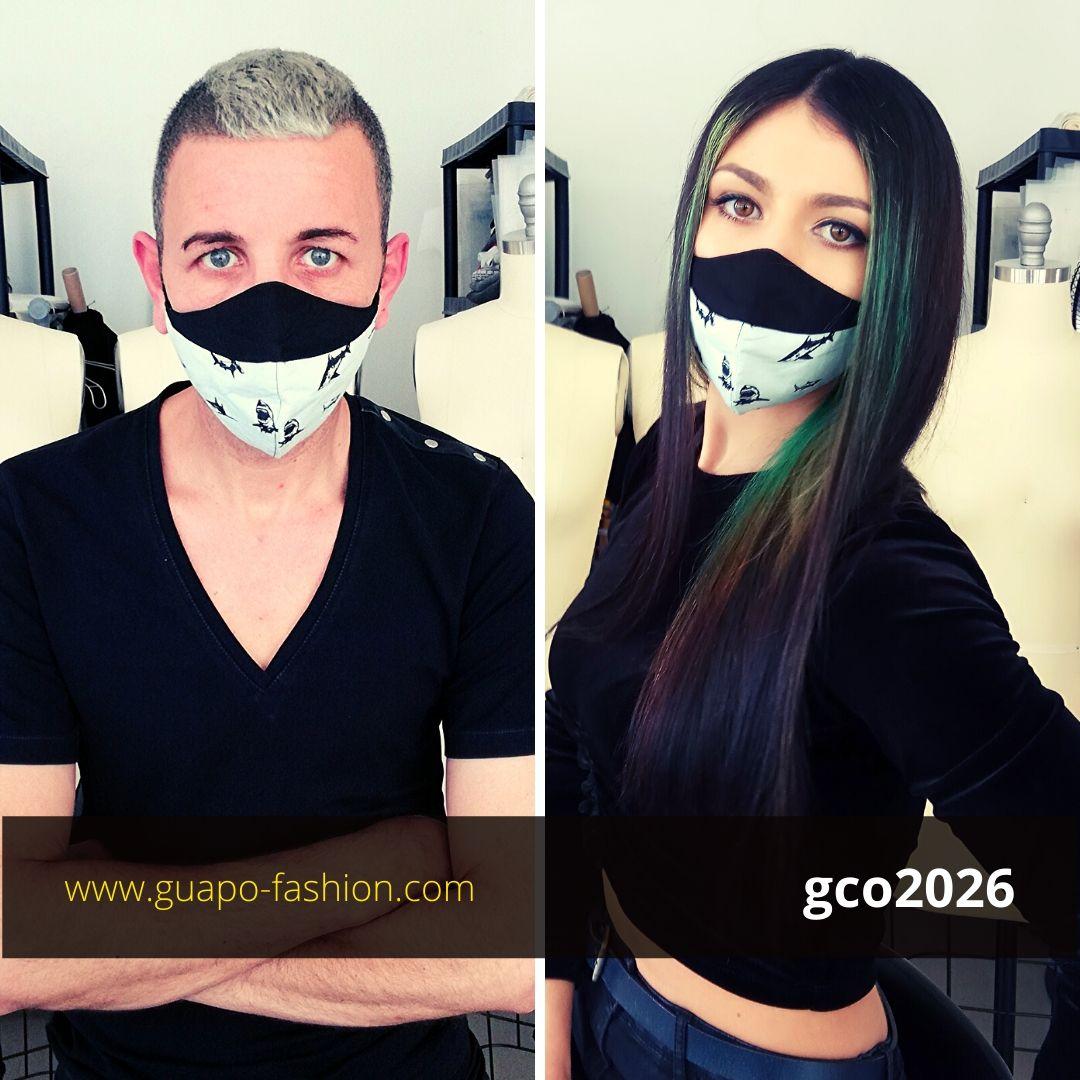 מסכת בד לקורונה cotton face mask