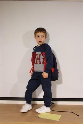 חליפת פוטר לילד - HI תמונת אריה - מידות 2,4,6,8