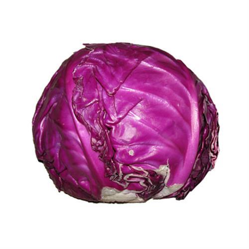כרוב אדום אורגני - כ-700 גרם ליח'