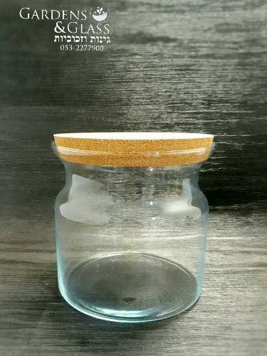 צנצנת זכוכית דקה
