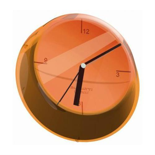 שעון קיר GLAMOUR כתום