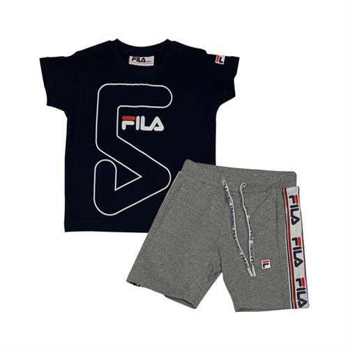 חליפת ספורט כחול/אפור FILA בנים - מידות 2 עד 8 שנים