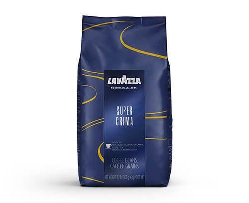"""פולי קפה לוואצה סופר קרמה 1 ק""""ג – Lavazza Super Crema 1 kg"""