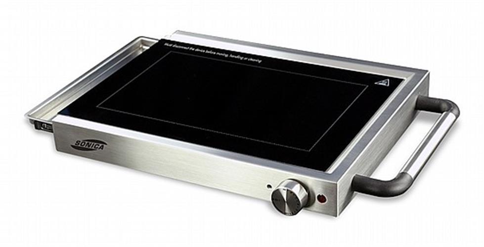 פלנצ'ה גריל זכוכית חשמלי מעוצב Sonica SGG-1200