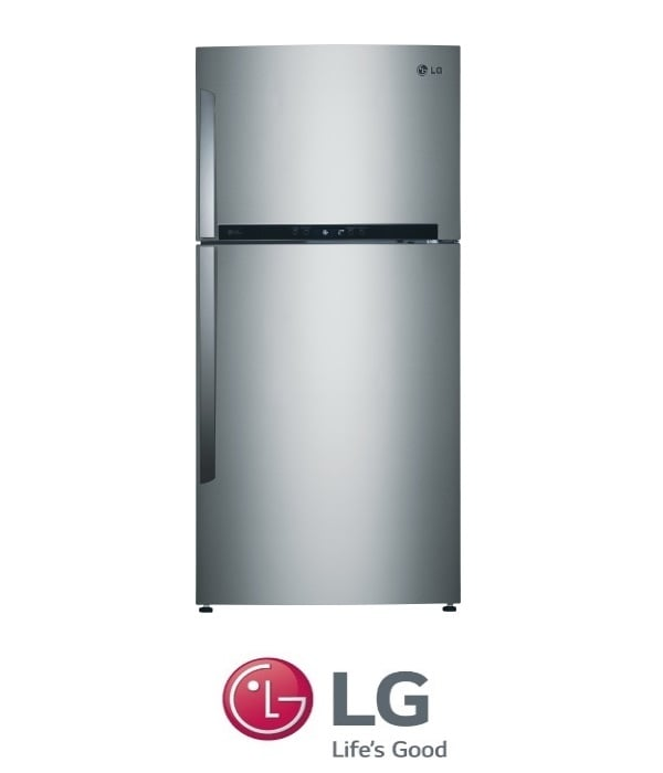 LG מקרר מקפיא עליון  דגם GR-M6480S נירוסטה מתצוגה !