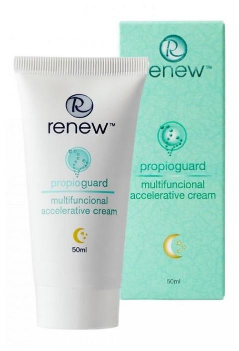 Renew Propioguard Multifunctional Accelerative Cream - רניו קרם לילה טיפולי לעור שמן ואקנתי